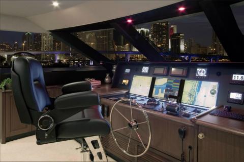 Yacht Interior - 85' Motor Yacht